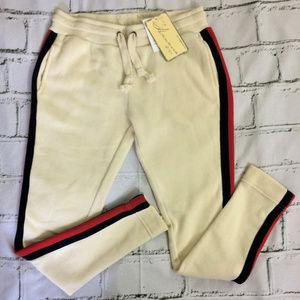 NWT Vintage Havana Striped Sweatpants